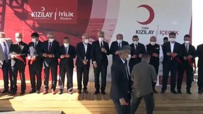 politika - ERZİNCAN - Türk Kızılay Erzincan Mineralli Su İşletmesi'nde yeni üretim hattı açılarak kapasite artırıldı