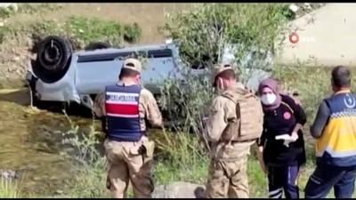 tahkikat -  Erzurum'da feci kaza...Genç sağlıkçı dereye uçan araçta can verdi