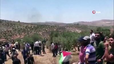 - İsrail askerlerinden Nablus'taki protestolara müdahale: 113 Filistinli yaralandı