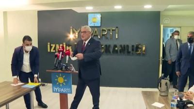 siyasi partiler - İZMİR - İYİ Parti Grup Başkanvekili Dervişoğlu: 'Türkiye'nin çözülemeyecek sorunu yok'