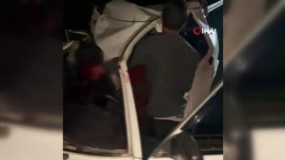 tahkikat -  Kazada yaralandı, otomobildekilerin yaşayıp yaşamadıklarını öğrenmek için defalarca kez soru sordu