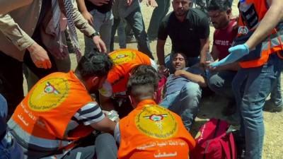 RAMALLAH - İsrail askerleri Batı Şeria'da 20 Filistinli göstericiyi yaraladı