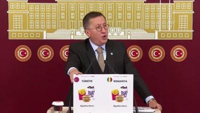 TBMM - İYİ Parti Grup Başkanvekili Türkkan, gündemi değerlendirdi