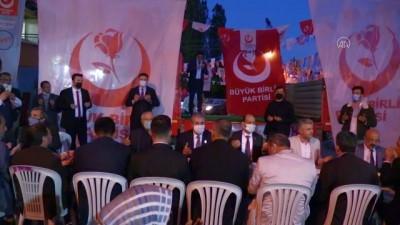 siyasi partiler - AFYONKARAHİSAR - BBP Genel Başkanı Destici, Afyonkarahisar'da konuştu