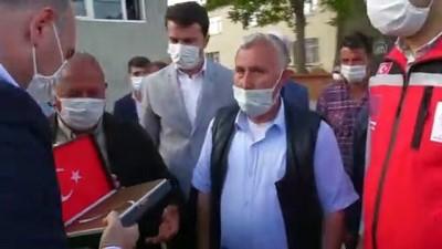 uzman cavus - AFYONKARAHİSAR - İçişleri Bakanı Soylu'dan şehit ailesine taziye ziyareti