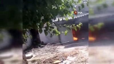 elektrik kontagi -  Antalya'da korkutan müstakil ev yangını