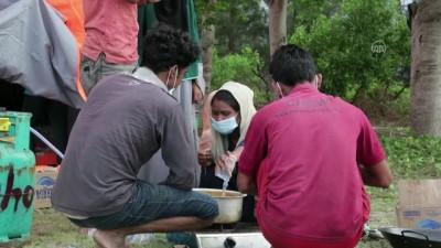 kalaba - Arakanlı Müslümanları taşıyan tekne Endonezya'da sahile vurdu (2)