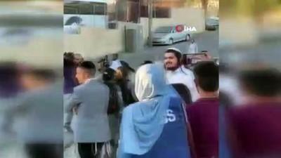 polis araci -  - İsrail güçlerinden Al-Jazeera muhabirine darp ve gözaltı