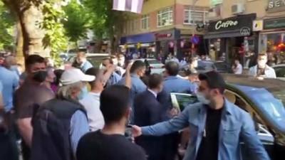 makam araci - İSTANBUL - Cumhurbaşkanı Erdoğan, vatandaşlarla sohbet etti