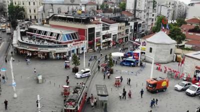 kalaba -  İstiklal Caddesi'nde kısıtlamasız ilk Cumartesi yoğunluğu