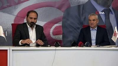 beraberlik - Sivasspor, Rıza Çalımbay'la 1 yıl daha yola devam edecek