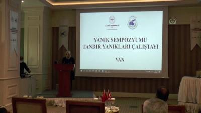 kadin hasta - VAN - 'Tandır Yanıkları Çalıştayı' başladı