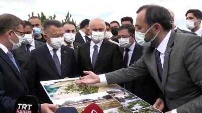 YOZGAT - Cumhurbaşkanı Yardımcısı Oktay, Sorgun'da millet bahçesi alanında inceleme yaptı