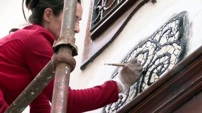 ANKARA - Sanatçı Menekşe Bilgiç'in eserleri, Fener Sokak duvarlarını süsleyecek