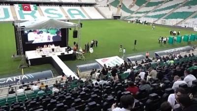 BURSA - Bursaspor'da yeni başkan Hayrettin Gülgüler oldu