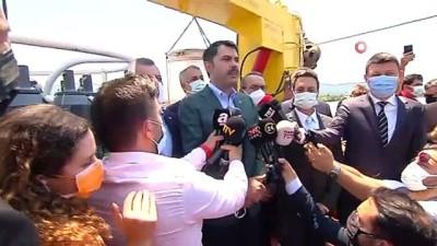 """hassasiyet -  Çevre ve Şehircilik Bakanı Kurum: """"Marmara'mızın kirlilikle yaşamasına müsaade etmeyeceğiz"""""""
