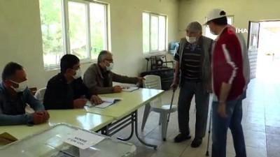 kalp krizi -  Eskişehir'de 5 mahallede seçim heyecanı yaşandı