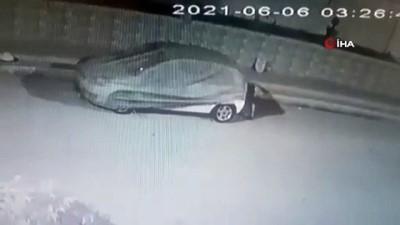 goreme -  Hırsızın rahat tavrına alarm bile engel olamadı