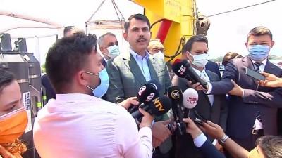 KOCAELİ - Bakan Kurum: '(Müsilaj) Marmara'mızı, boğazımızı kaderine terk etmeyeceğiz'