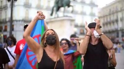irkcilik - MADRİD - İspanya'daki siyahi Afrikalılar ırkçılık karşıtı gösteri düzenledi