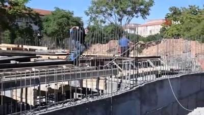 tahkikat -  Okul inşaatından düşen işçi yaralandı