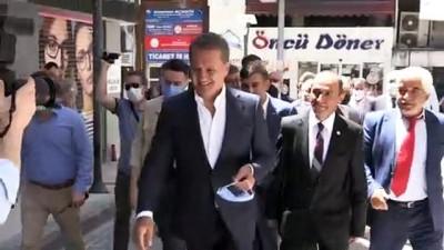 siyasi parti - ZONGULDAK - TDP Genel Başkanı Mustafa Sarıgül, basın toplantısı düzenledi