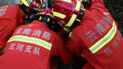 - Çin'de kuyuya düşen 2 yaşındaki çocuk 10 saat sonra kurtarıldı