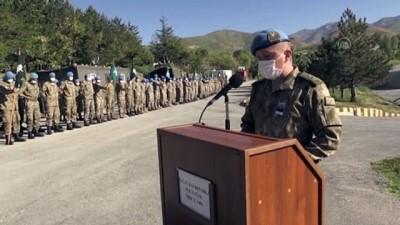 siyasi parti - HAKKARİ - Pençe Yıldırım Harekatı kapsamında Irak'ın kuzeyinde şehit olan asker için tören düzenlendi (2)