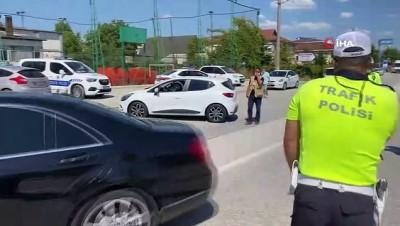 ehliyetsiz surucu -  Hız yapan sürücüler radara takıldı: 1 saatte 163 araca 134 bin lira ceza