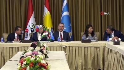 siyasi partiler -  - IKBY'deki anayasa değişikliği öncesi Türkmenlerden çalıştay