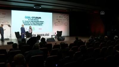 İSTANBUL - Bakan Dönmez: 'Karadeniz'de bu yıl yeni keşif kuyusu açılabilir'