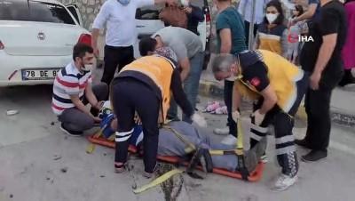 tahkikat -  Karabük'te 3 aracın karıştığı kazada 2'si çocuk 4 yaralandı