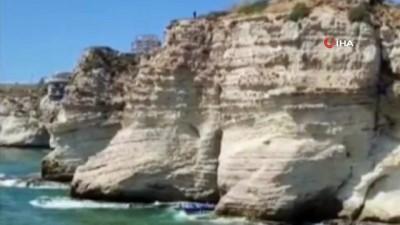 kayali -  - Metrelerce yüksekten atlayan Lübnanlı sporcu hayatını kaybetti