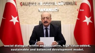 beraberlik -  Bakan Bilgin ILO'nun 109. Konferansına katıldı