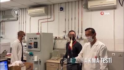 borat -  Bakan Dönmez, 135 milyar m3'lük doğal gazın laboratuvar ortamında yakılmasının görüntülerini paylaştı