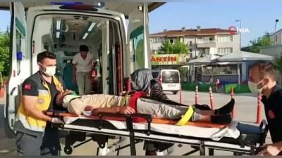 elektrikli bisiklet -  Elektrikli bisiklet dehşeti; 4 yaralı