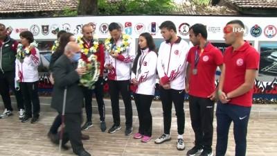rekor - Görme Engelliler Atletizm Milli Takımı, TSYD Ankara Şubesi'nde bir araya geldi