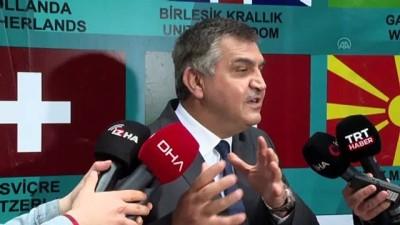 ANKARA - EURO 2020'ye katılan ülkelerin Ankara Büyükelçileri penaltı turnuvasında buluştu (2)
