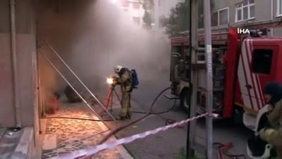 mobilya -  Ataşehir'de marangoz atölyesinde yangın