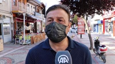 aritas - EDİRNE - Kovid-19 vaka sayılarının azaldığı Trakya'da vatandaşlar rehavetten uzak durulmasını istiyor