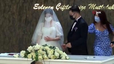online -  Normalleşme başladı, nikah talepleri patlama yaptı