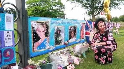 heykel -  - Prenses Diana'nın heykeli Londra'da açıldı