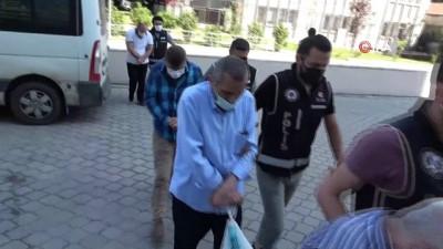 adliye binasi -  Samsun'da tefecilik operasyonunda 7 kişi adliyeye sevk edildi