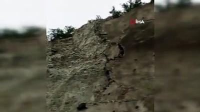 keci -  Baraj setine tırmanan keçiler, görenleri şaşkına çeviriyor