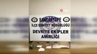 metamfetamin -  Sancaktepe'de uyuşturucuları alıcı ismine göre paketleyen şahıslar yakalandı