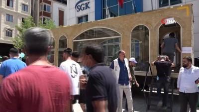 Van'da 'Minia Kudüs' tırı ziyarete açıldı