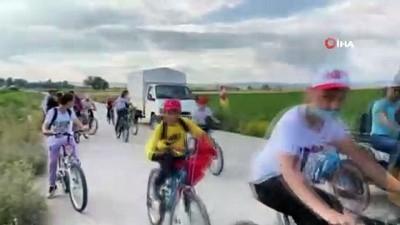 bisiklet turu -  Aslanapa'da bisiklet turu etkinliği