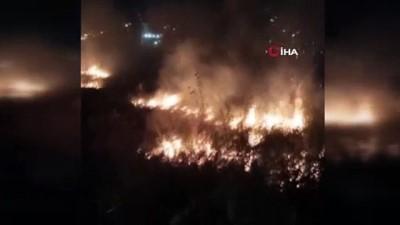havai fisek -  Bursa'da eğlence uğruna çalılıkları yaktılar