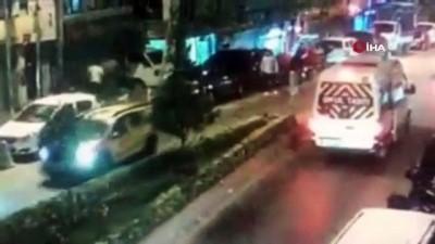 muhalefet -  İstanbul'da dehşet anları kamerada: Bekçinin başına silah dayadı