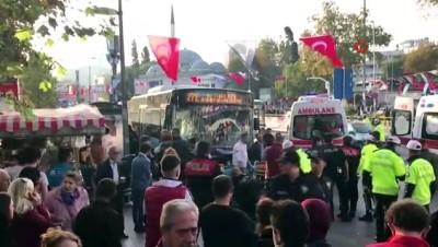 Beşiktaş'ta durağa dalan otobüs şoförünün cezası onandı